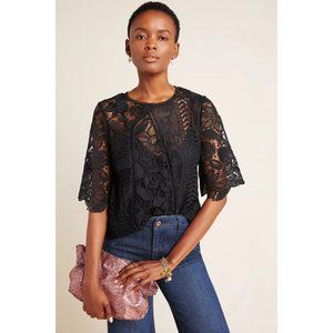 COPY - Anthropologie Eri + Ali Davia Lace Blouse